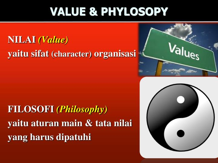 VALUE & PHYLOSOPY