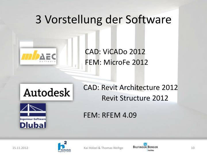 3 Vorstellung der Software