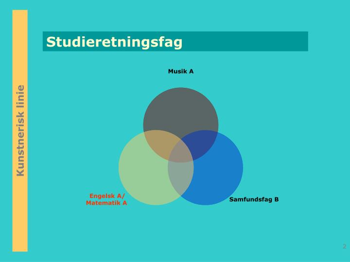 Studieretningsfag