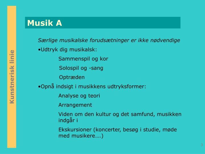 Musik A