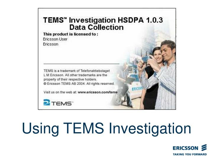 Using tems investigation