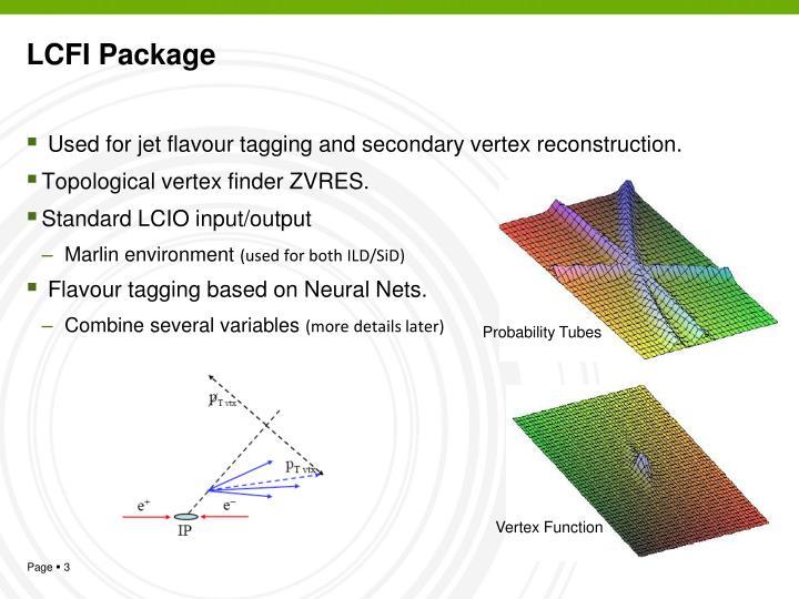 LCFI Package