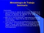 metodolog a de trabajo seminario1