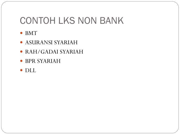 CONTOH LKS NON BANK