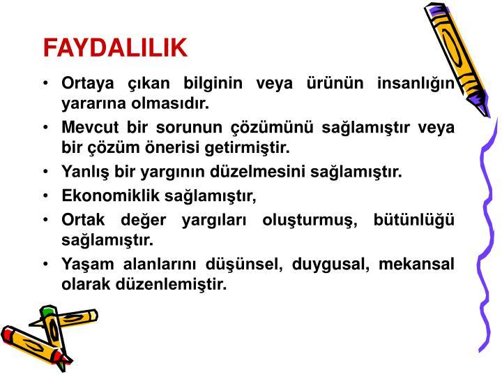 FAYDALILIK