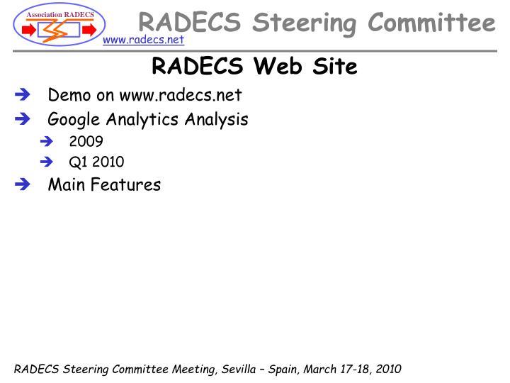 RADECS Web Site