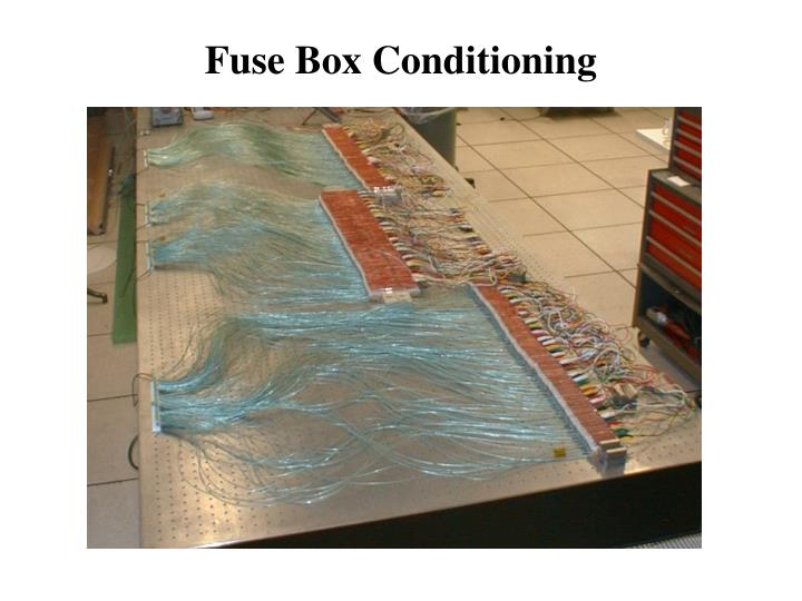 Fuse Box Conditioning