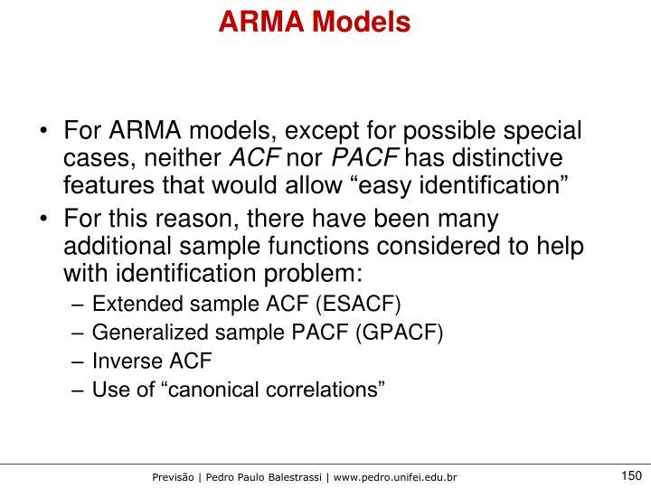 ARMA Models