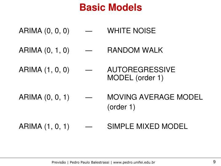 Basic Models