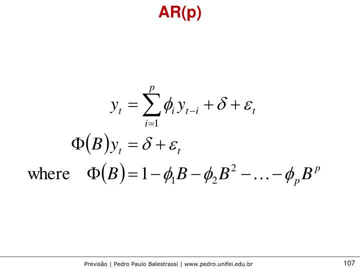 AR(p)