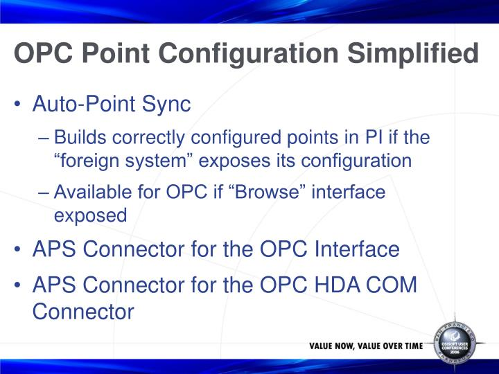 OPC Point Configuration Simplified