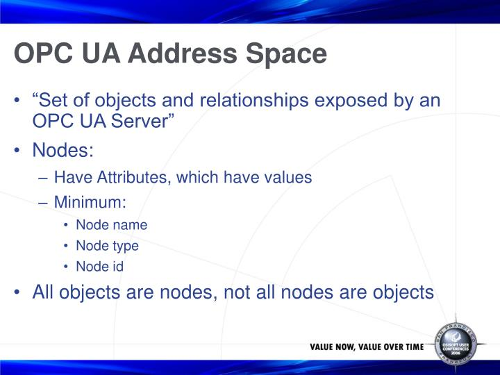 OPC UA Address Space
