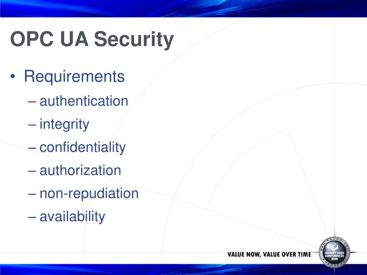 OPC UA Security