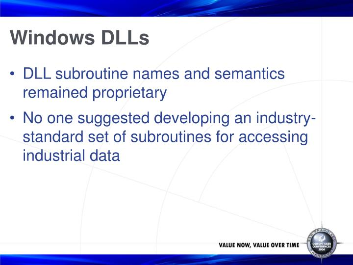 Windows DLLs