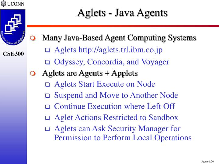 Aglets - Java Agents