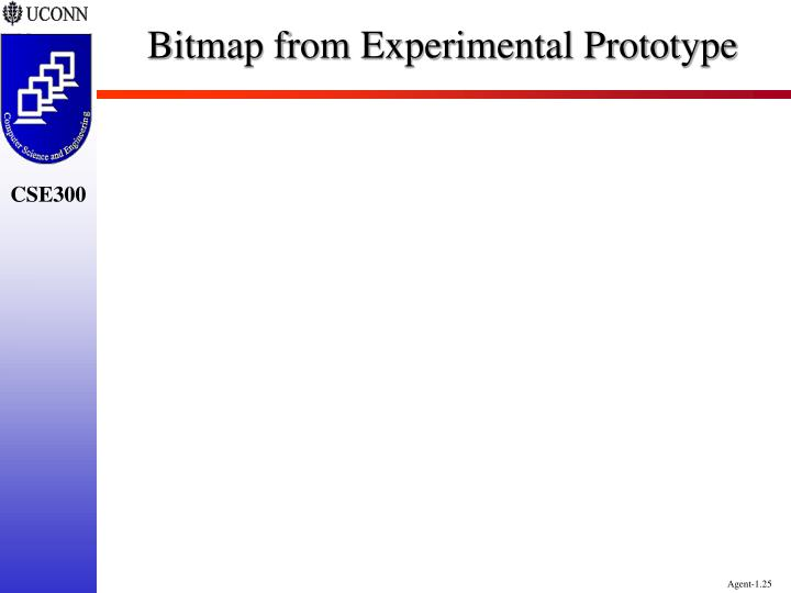 Bitmap from Experimental Prototype