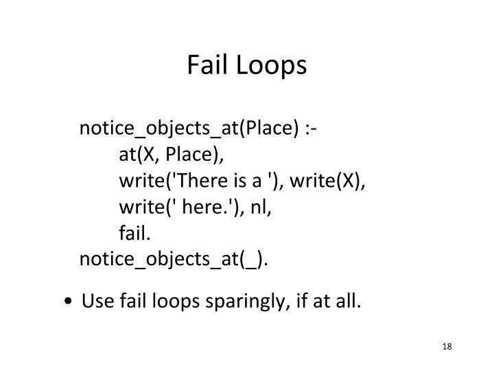 Fail Loops