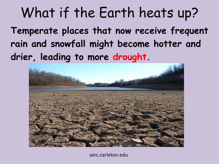 What if the Earth heats up?