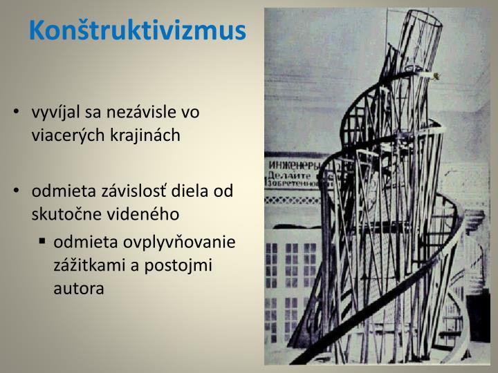 Konštruktivizmus