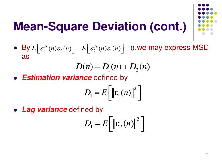 Mean-Square Deviation (cont.)