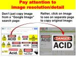 pay attention to image resolution detail1