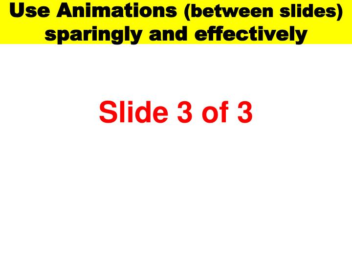 Use Animations