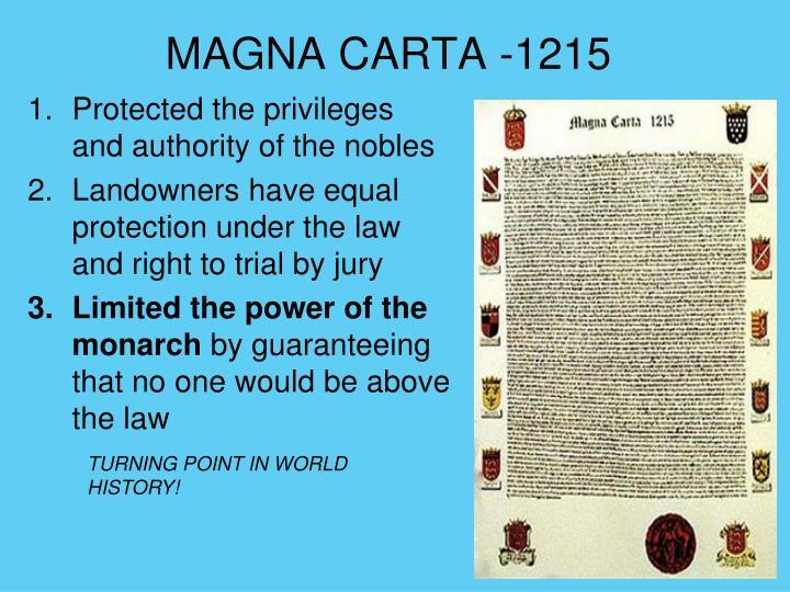 MAGNA CARTA -1215