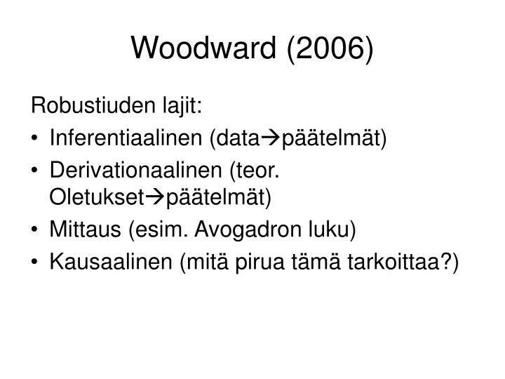 Woodward (2006)