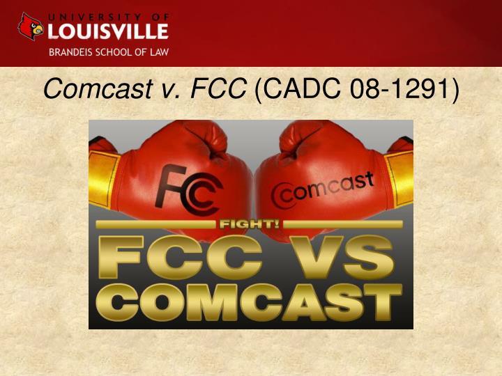 Comcast v. FCC