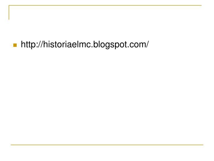 http://historiaelmc.blogspot.com/