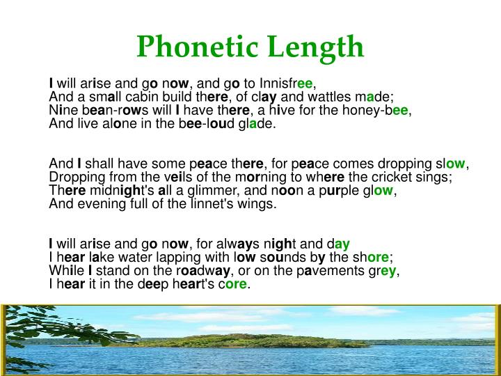 Phonetic Length