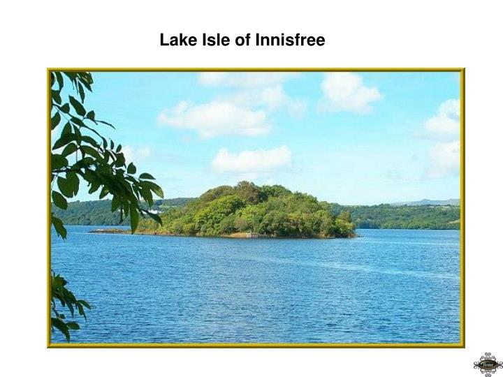 Lake Isle of Innisfree