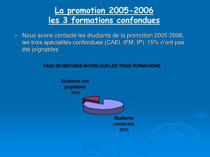 La promotion 2005-2006