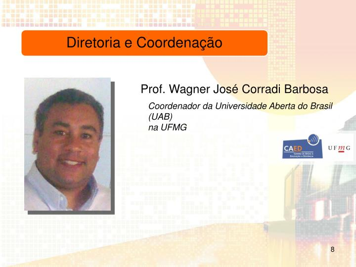 Prof. Wagner José Corradi Barbosa