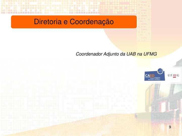 Coordenador Adjunto da UAB na UFMG