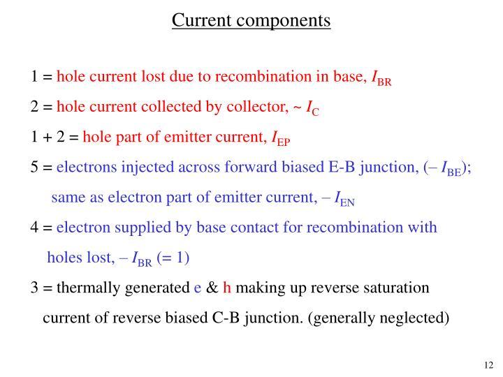 Current components