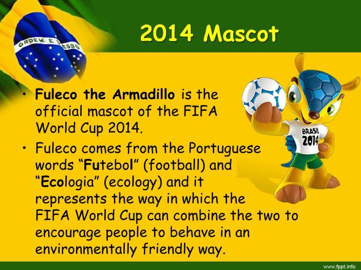 2014 Mascot