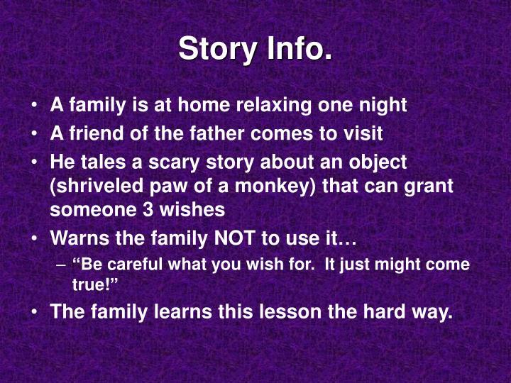 Story Info.