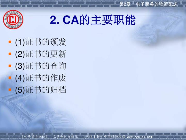 2. CA