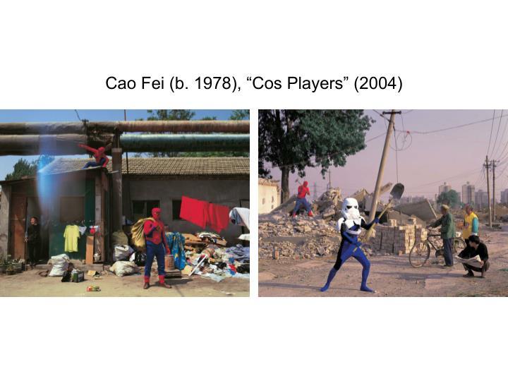 "Cao Fei (b. 1978), ""Cos Players"" (2004)"