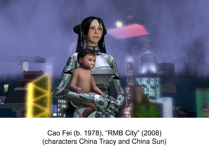 """Cao Fei (b. 1978), """"RMB City"""" (2008)"""