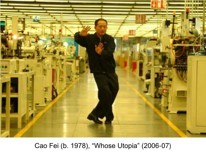 "Cao Fei (b. 1978), ""Whose Utopia"" (2006-07)"