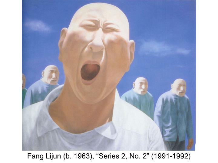 "Fang Lijun (b. 1963), ""Series 2, No. 2"" (1991-1992)"