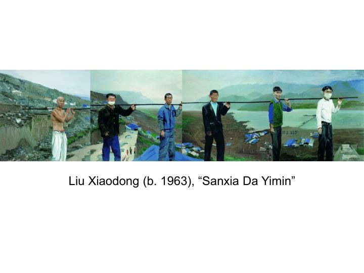 """Liu Xiaodong (b. 1963), """"Sanxia Da Yimin"""""""