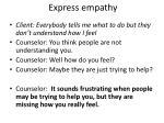 express empathy1