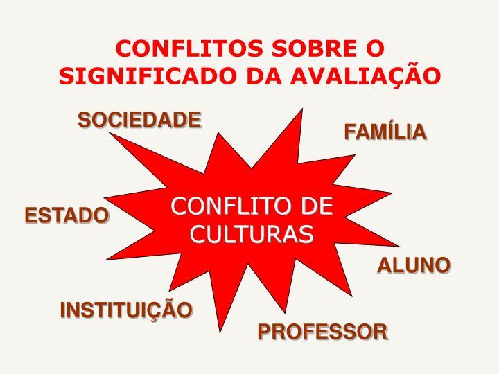 CONFLITO DE CULTURAS