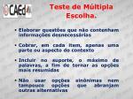 teste de m ltipla escolha2