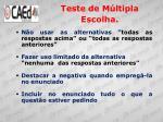 teste de m ltipla escolha3