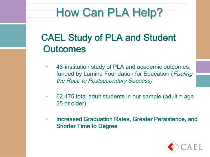 How Can PLA Help?
