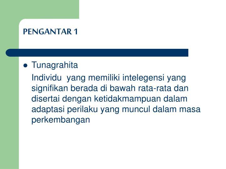 PENGANTAR 1